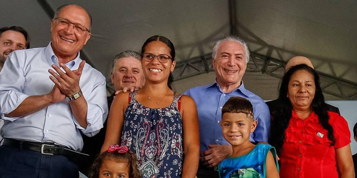 Temer aposta que saída do PSDB do governo será 'cortês e elegante' e é vaiado ao falar de economia