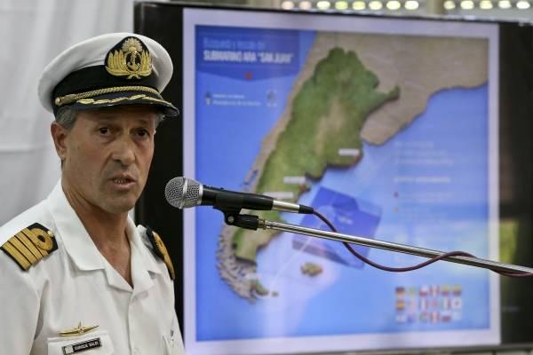 Búsqueda del Submarino ARA San Juan en Argentina