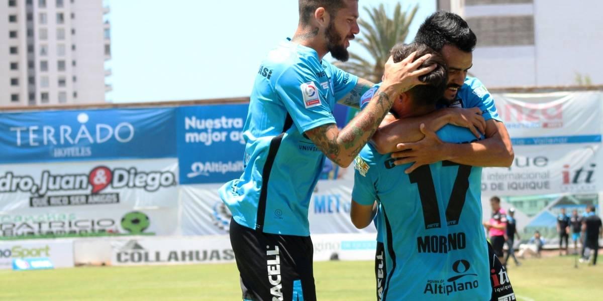 Deportes Iquique sorprendió a San Luis y volvió a los triunfos tras cuatro meses de sequía