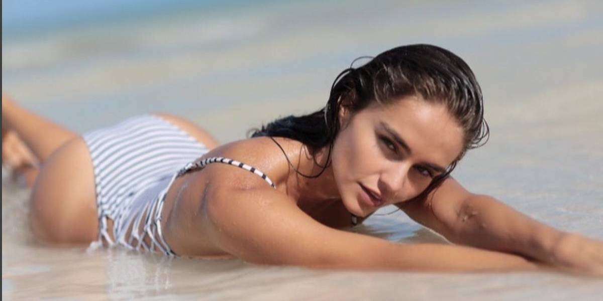 Ella es la sexy modelo paraguaya que conquistó el corazón de Maluma