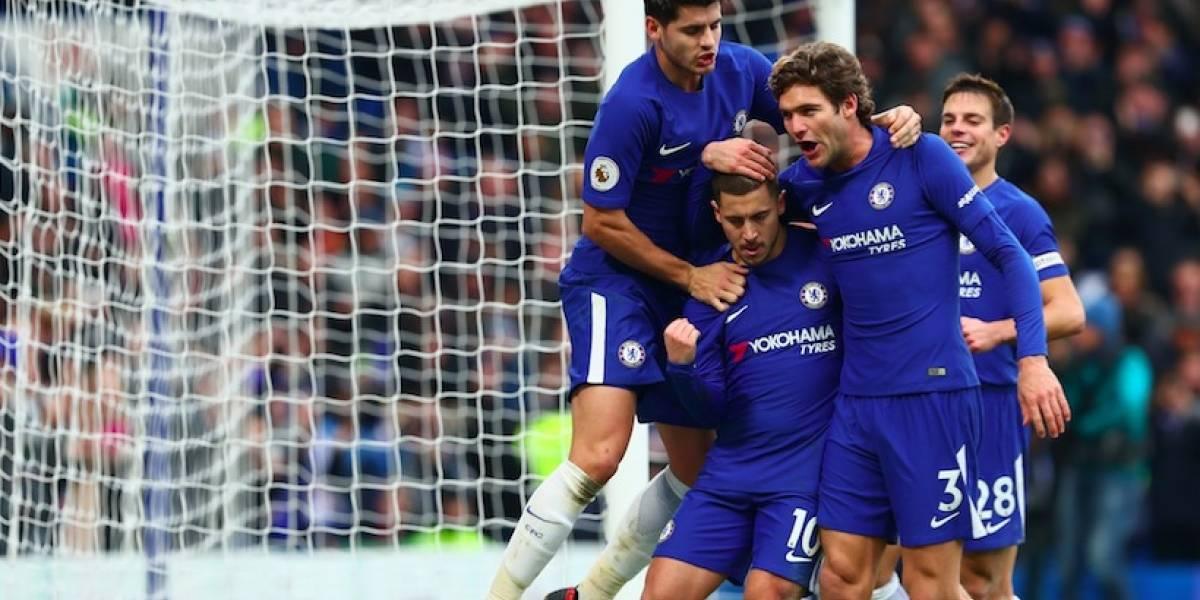 Chelsea gana Newcastle y presiona Mourinho