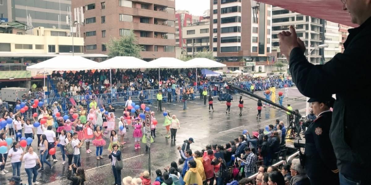Quito: Por Desfile de la Confraternidad Norte se mantendrán cerradas varias calles