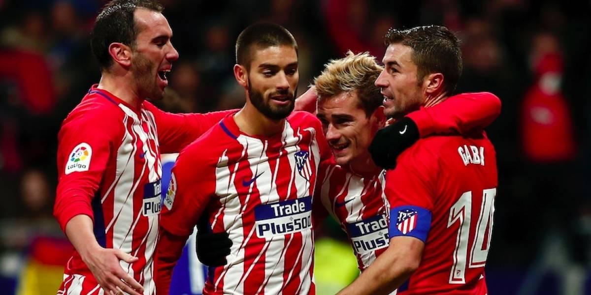 Carlos Vela y la Real Sociedad caen ante el Atlético de Madrid