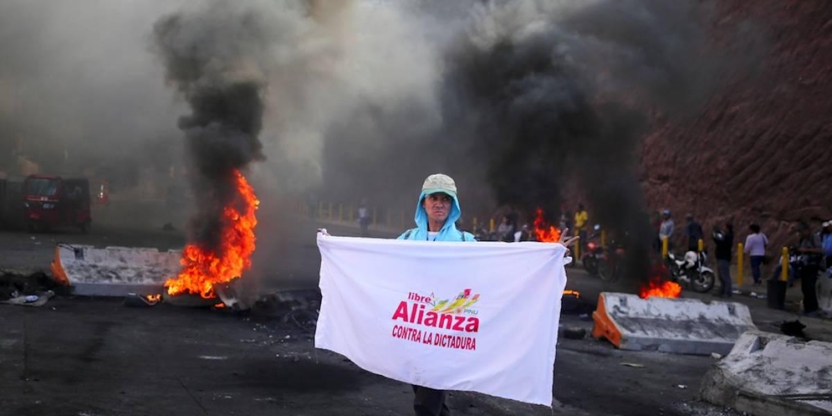 Máxima tensión en Honduras tras resultados en elecciones
