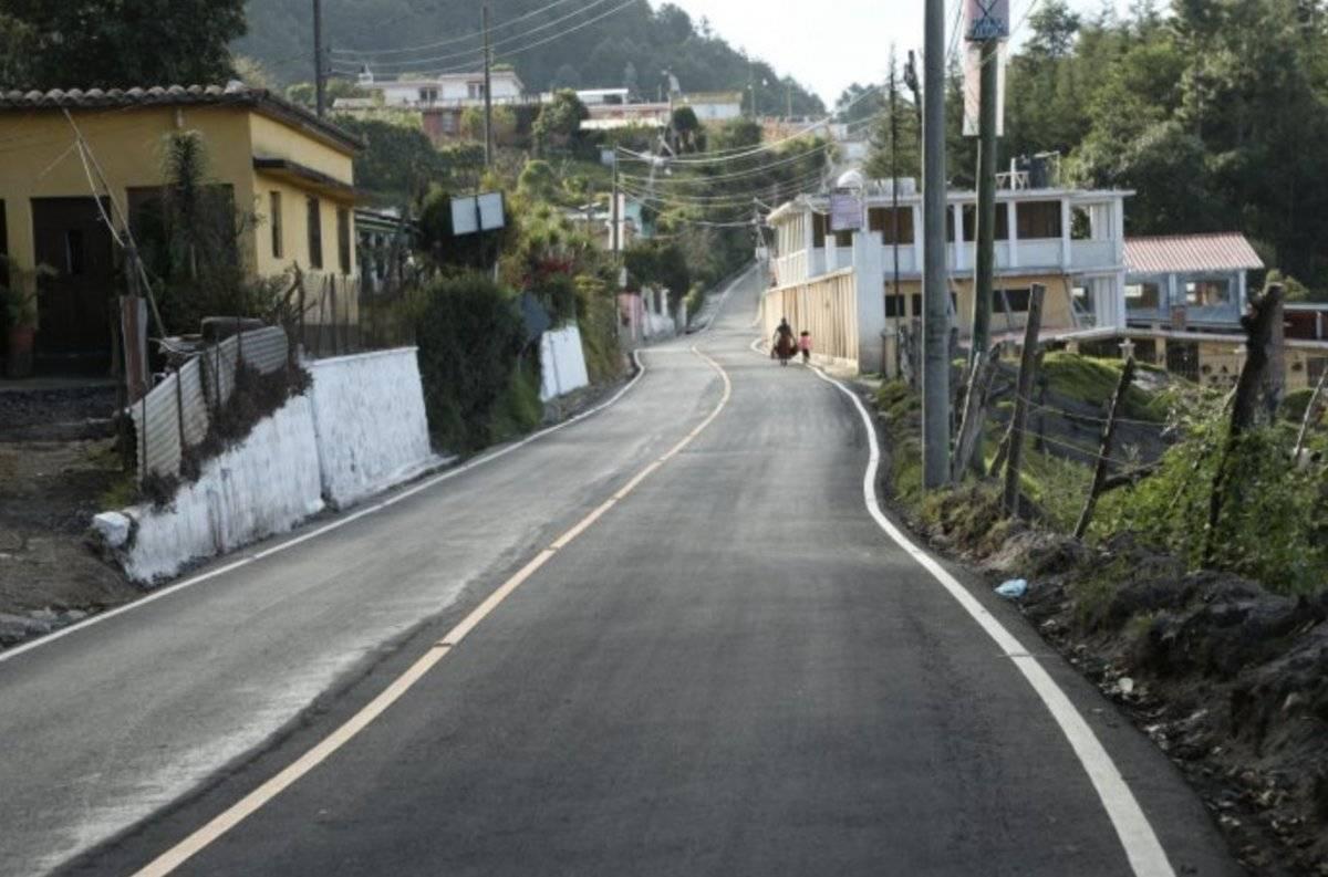 Inauguración de carretera Sololá