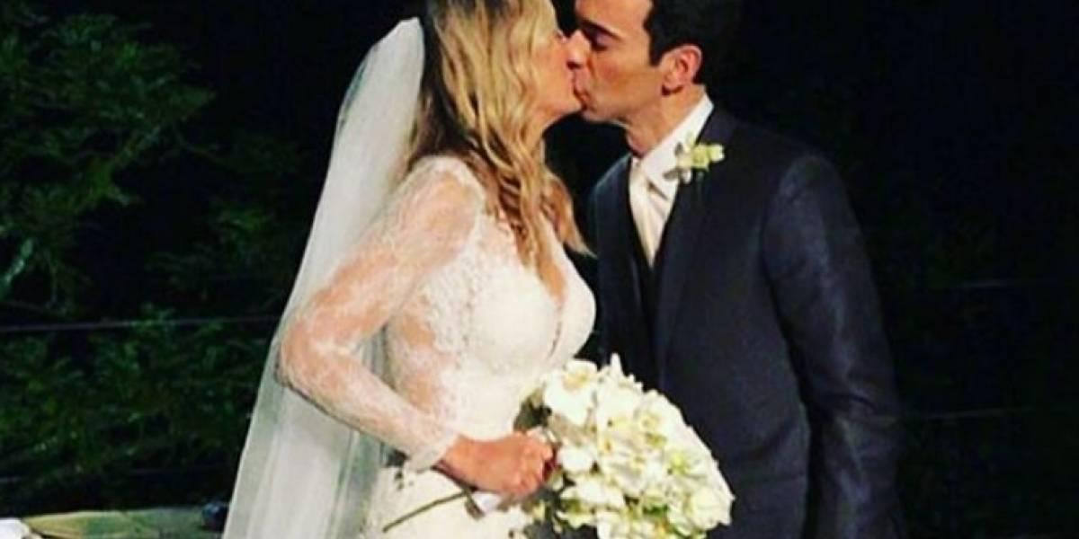 César Tralli diz ter nota fiscal para provar que pagou seu casamento
