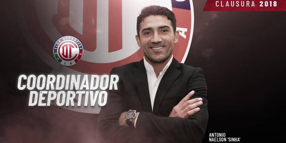 Sinha, el nuevo coordinador deportivo del Toluca