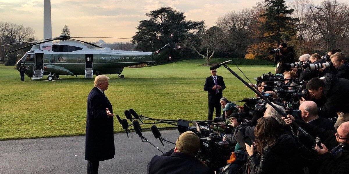 Trump vuelve a negar connivencia con Rusia para ganar las elecciones