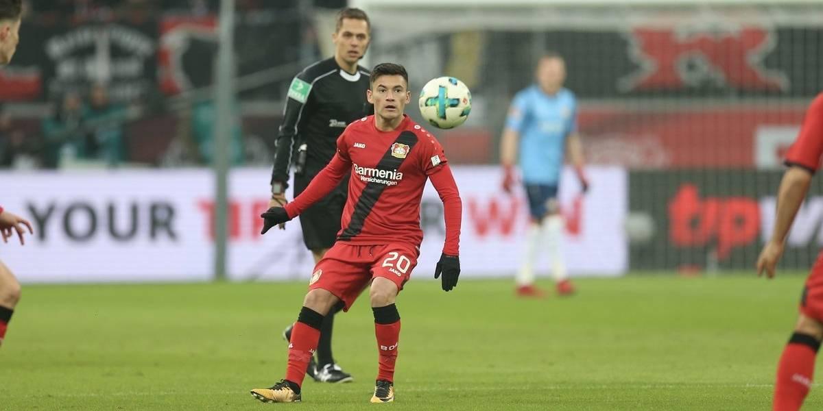 Charles Aránguiz fue titular en amargo empate del Bayer Leverkusen ante Borussia Dortmund