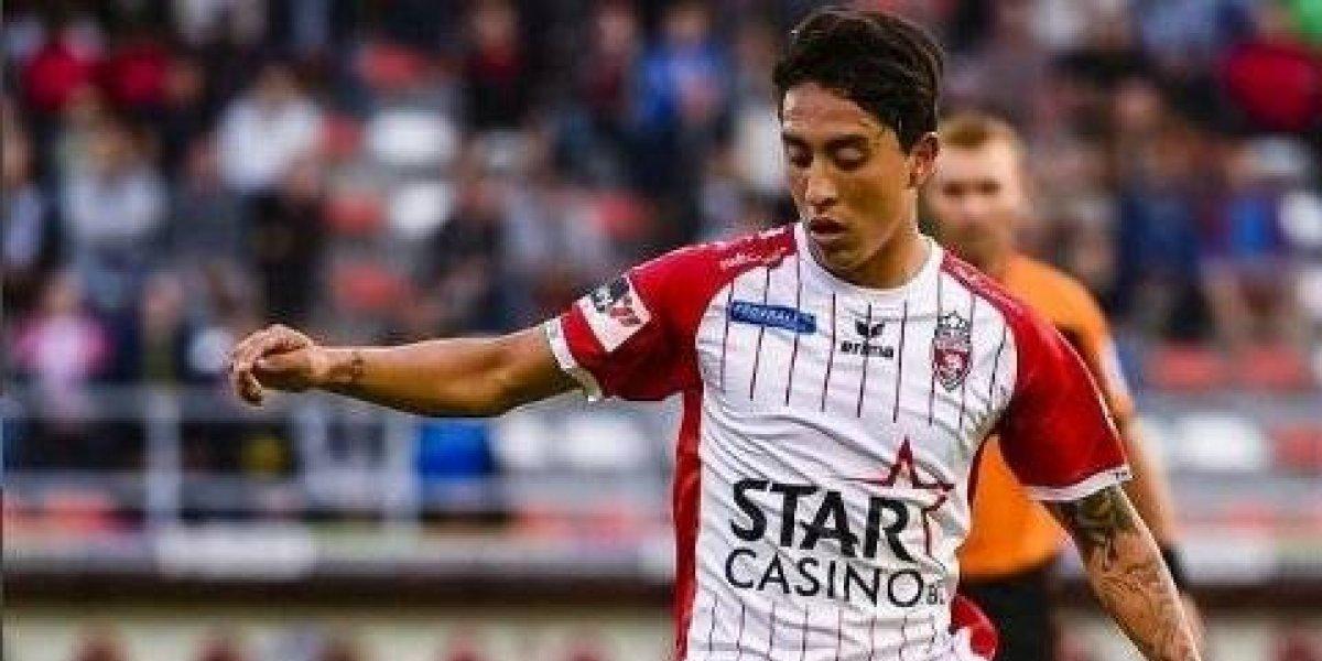 Govea y Mouscron sacaron empate ante Sint-Truiden