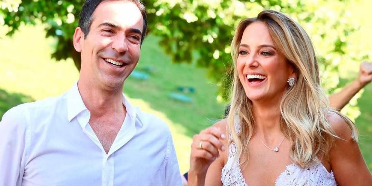 Ticiane Pinheiro e Cesar Tralli se casam em Campos do Jordão