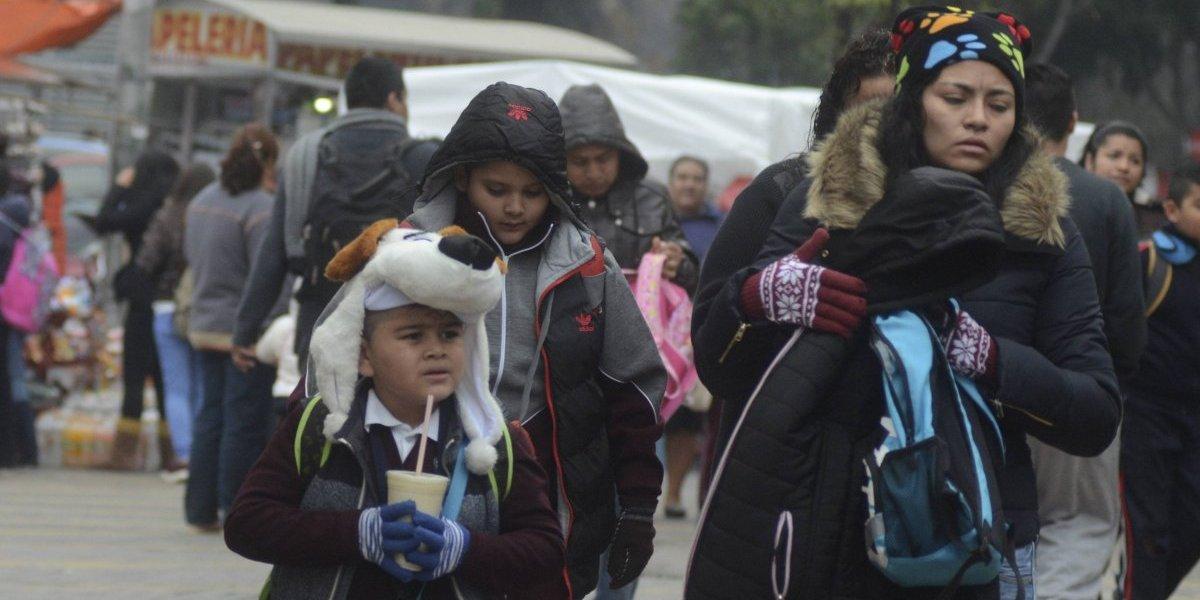 Continuará el ambiente frío en el Valle de México