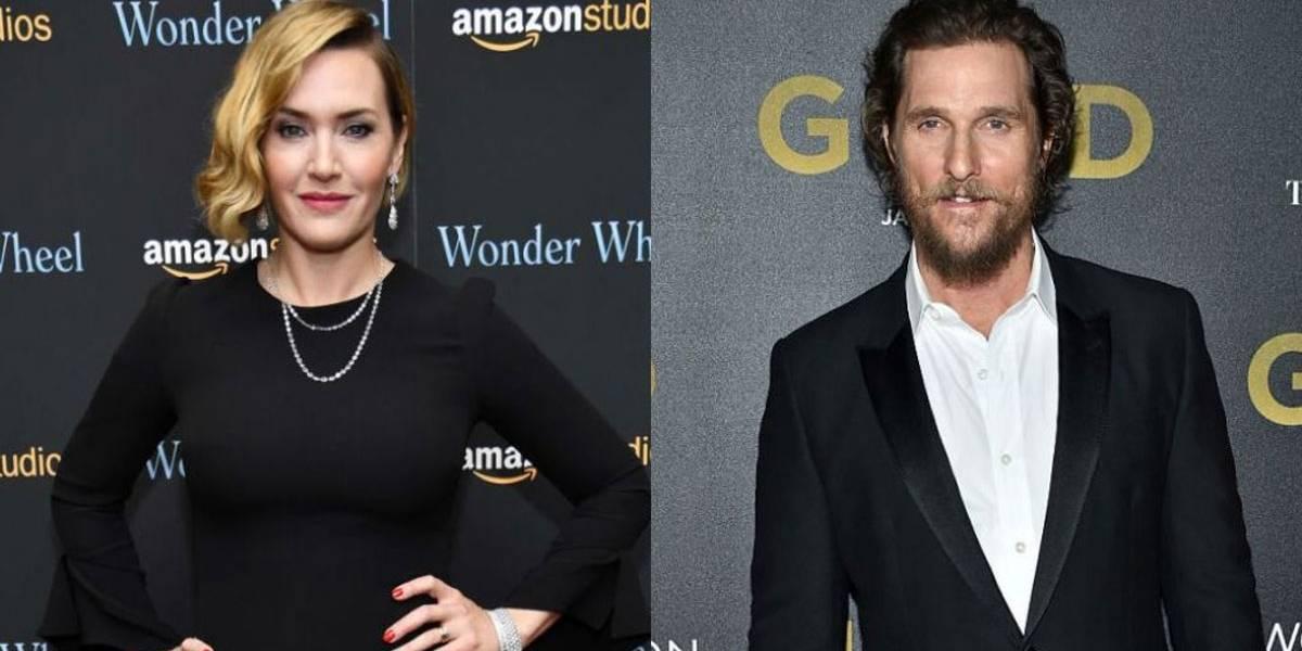 Kate Winslet revela que Matthew McConaughey fez teste para ser Jack