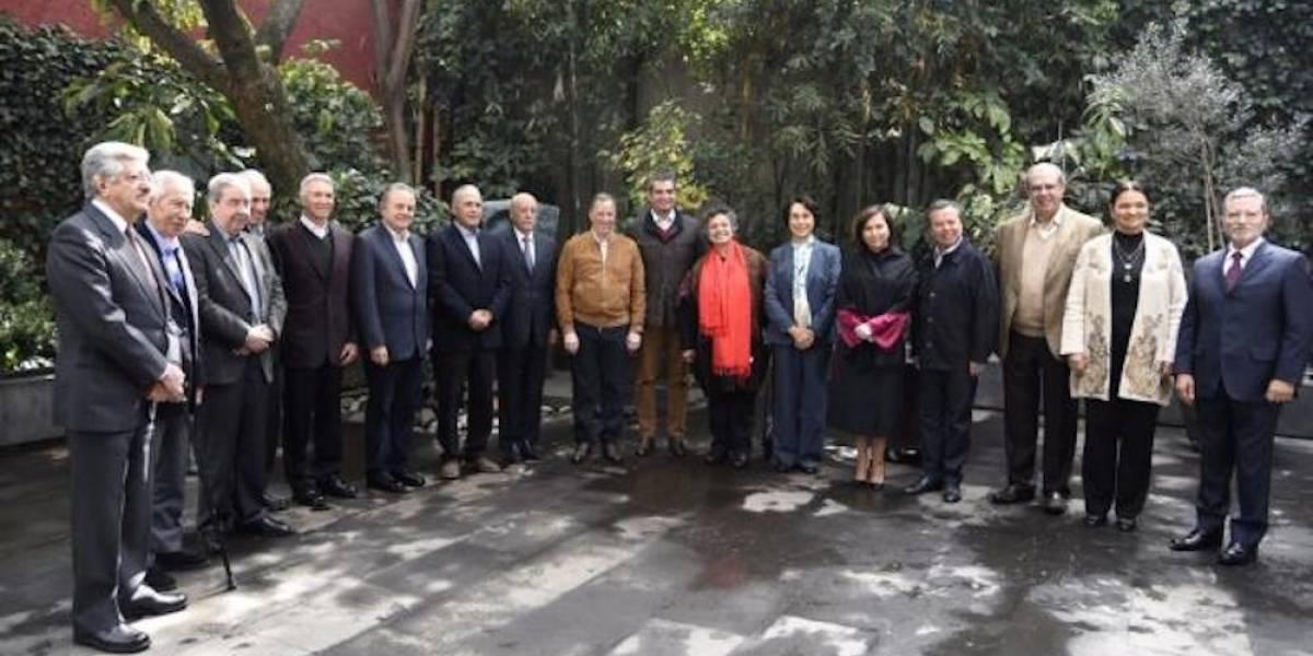 José Antonio Meade se reúne con ex dirigentes del PRI