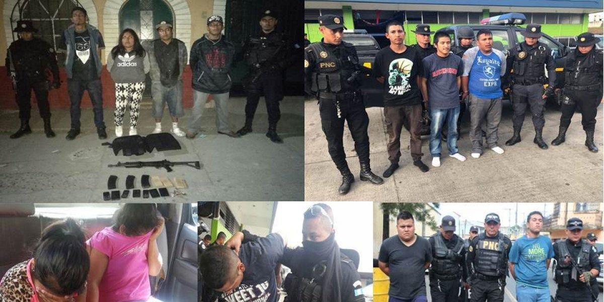 Policía frustra masivo ataque del Barrio 18