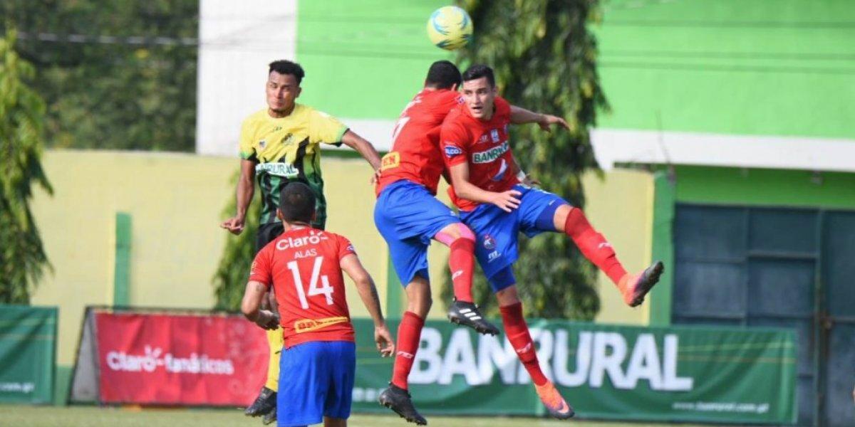 Municipal y Guastatoya definen al tercer semifinalista del Torneo Apertura