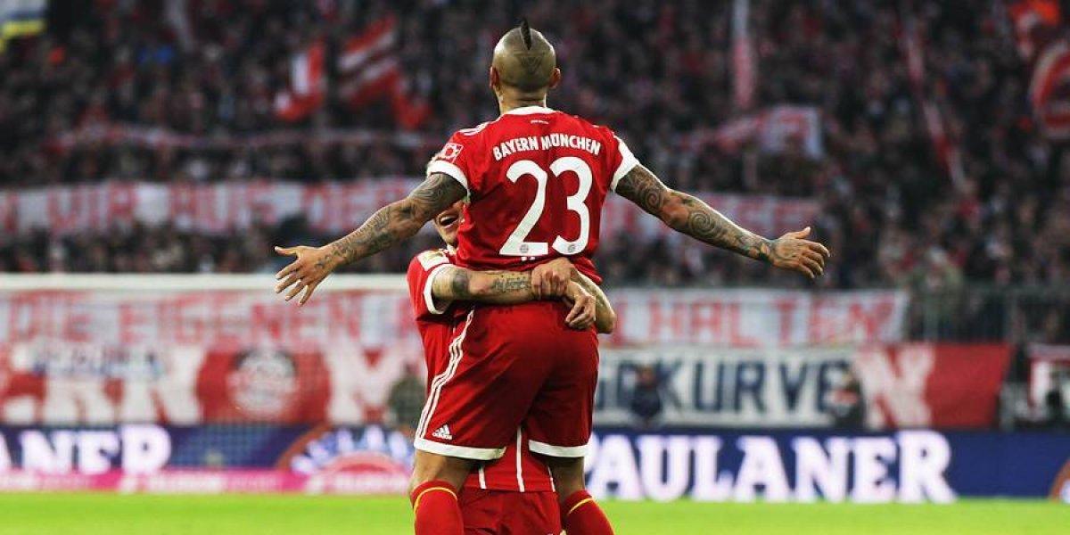Minuto a Minuto: Arturo Vidal sigue con su racha goleadora en victoria del Bayern Munich ante Hannover 96