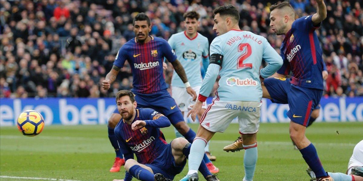 El Celta reabre la Liga tras sacar un punto en el Camp Nou