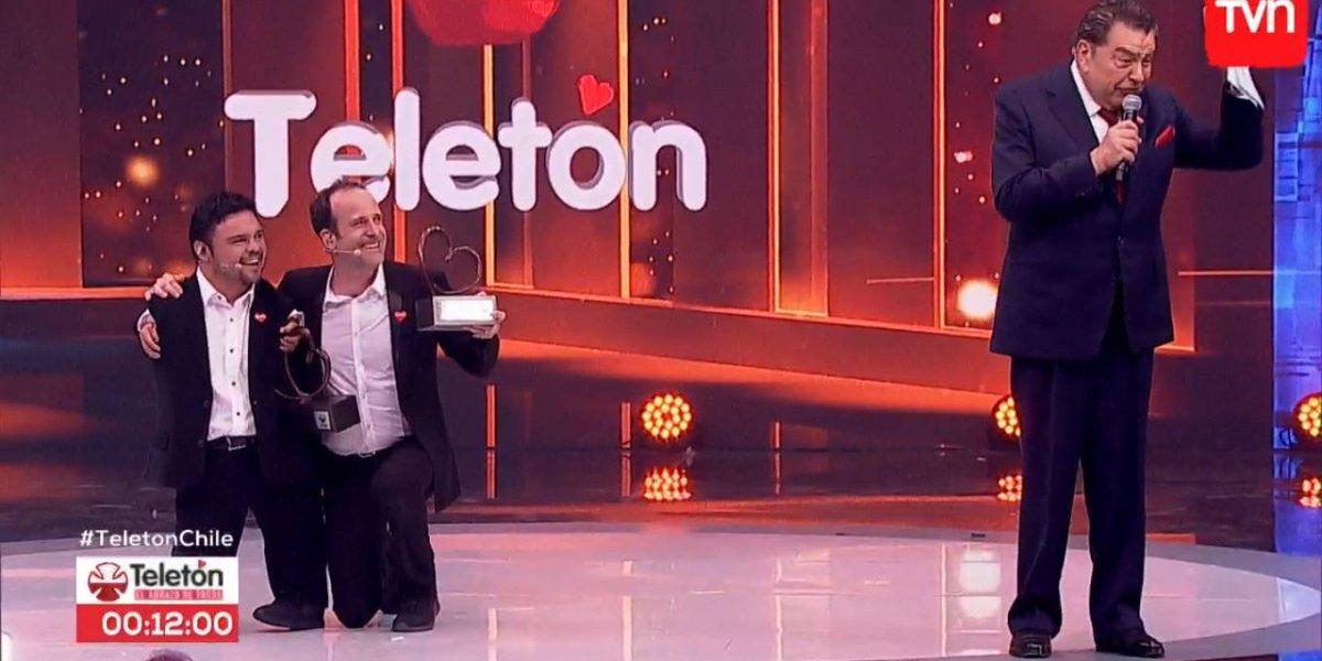 Teletón: humor y el primer cómputo de la noche marcan el segundo bloque de la jornada