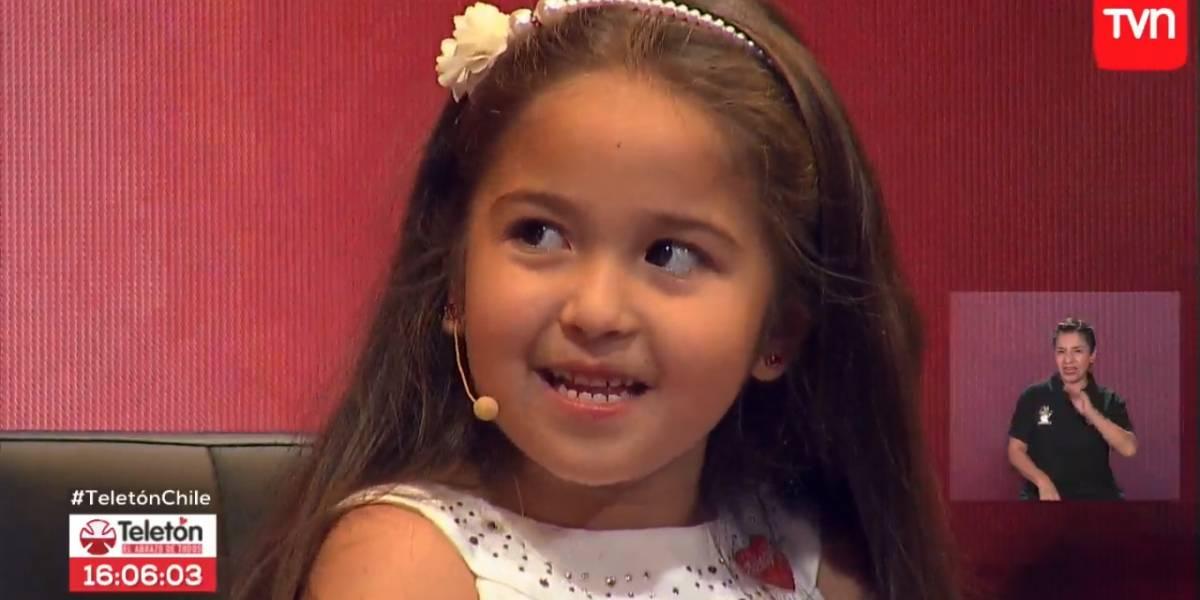 La conmovedora historia de Amylee Oliva, la embajadora de Teletón 2017