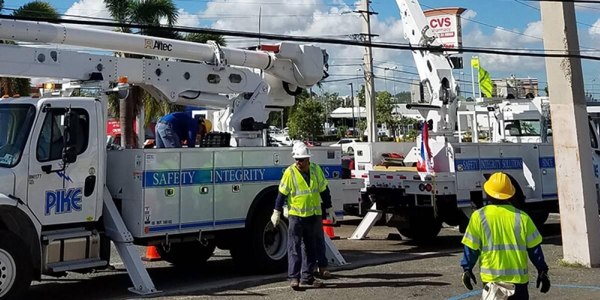Más millones para Fluor en los trabajos de restauración sistema eléctrico