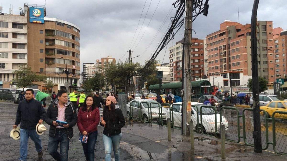Quito: Tráfico en la Av. 6 de diciembre y Naciones Unidas previo al concierto de Bruno Mars METRO