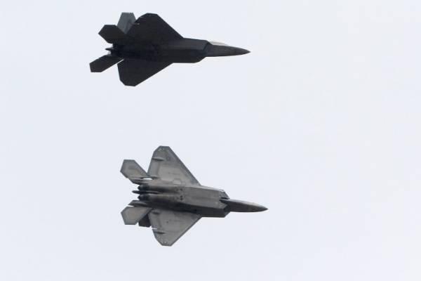 aviones F-22