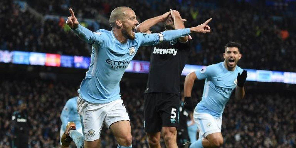 Manchester City remonta ante el West Ham