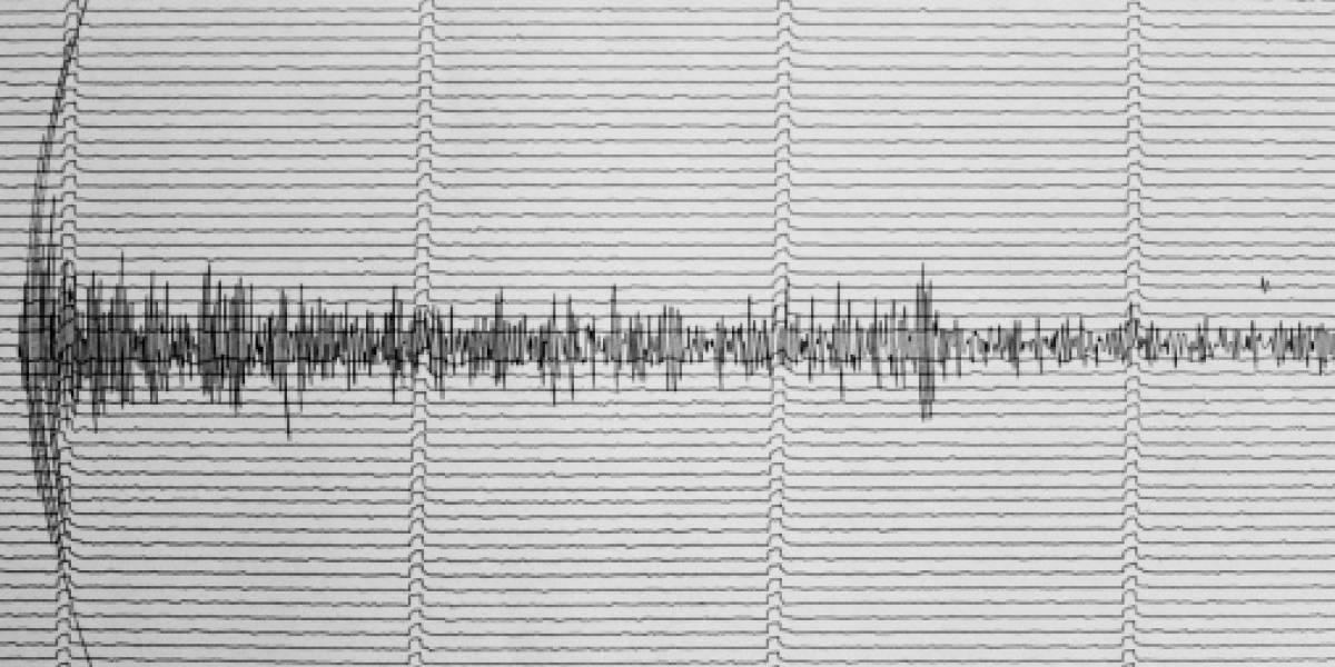 Registran sismo de magnitud 4,7 en provincia costera de Ecuador