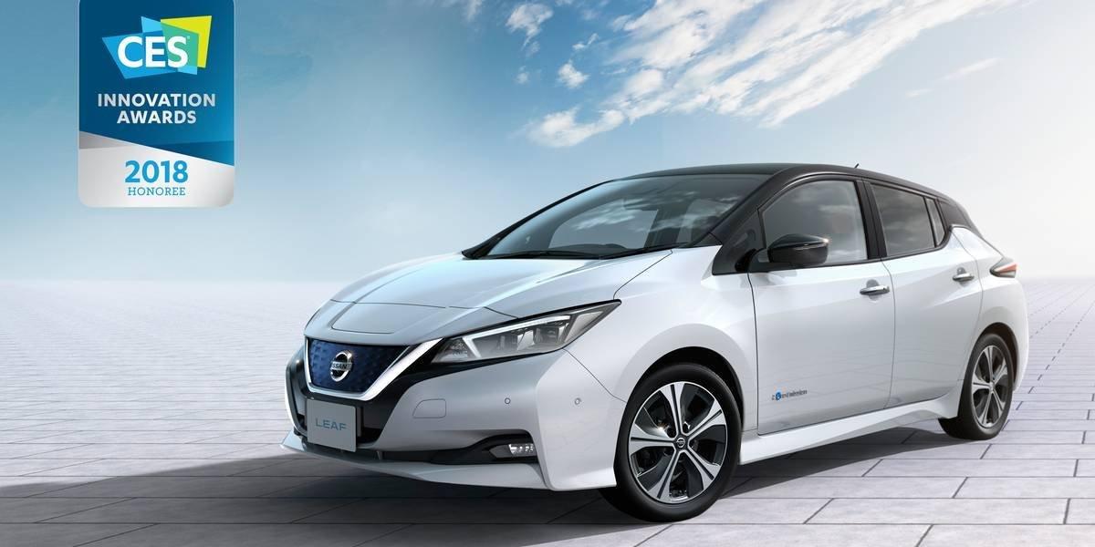 Nissan LEAF gana premio de innovación en el CES 2018