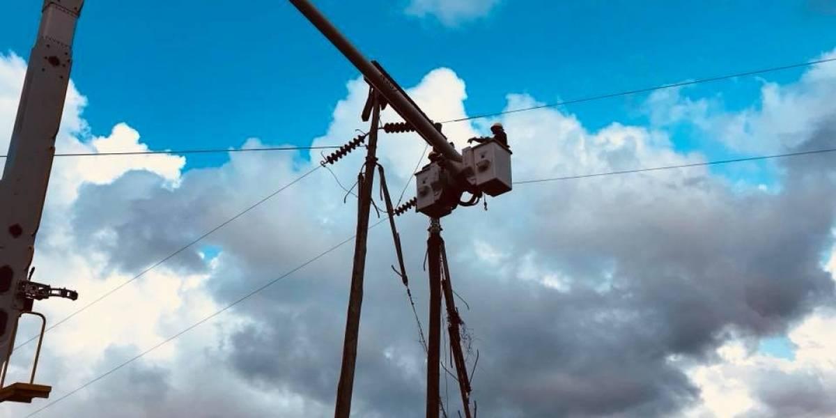 Cierran tramo del expreso Luis A. Ferré por reparaciones de la AEE