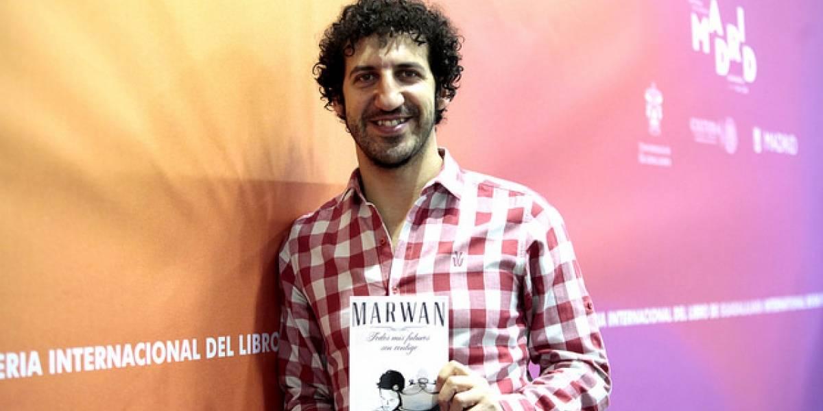 Marwan publicará su nuevo libro en marzo de 2018