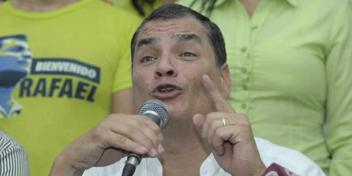 Correa arremete contra el Presidente de la Corte Constitucional