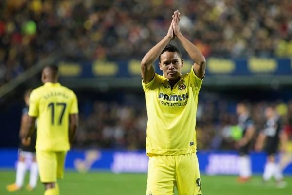 gol de Carlos Bacca en Sevilla VS Villarreal