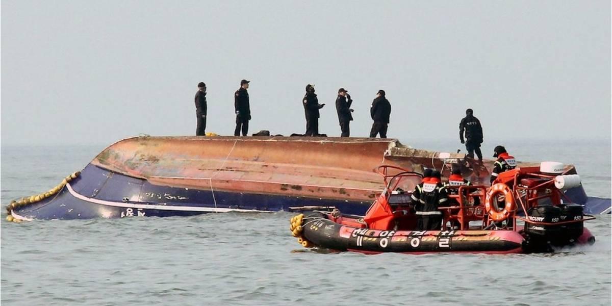 Corea del Sur: mueren 13 personas al estrellarse un bote pesquero y un buque cisterna de 330 toneladas
