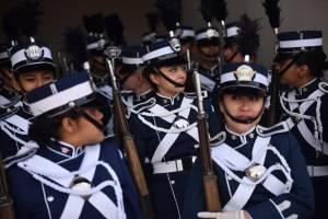 Acrobacias Show aereo 96 aniversario Fuerza Aerea de Guatemala