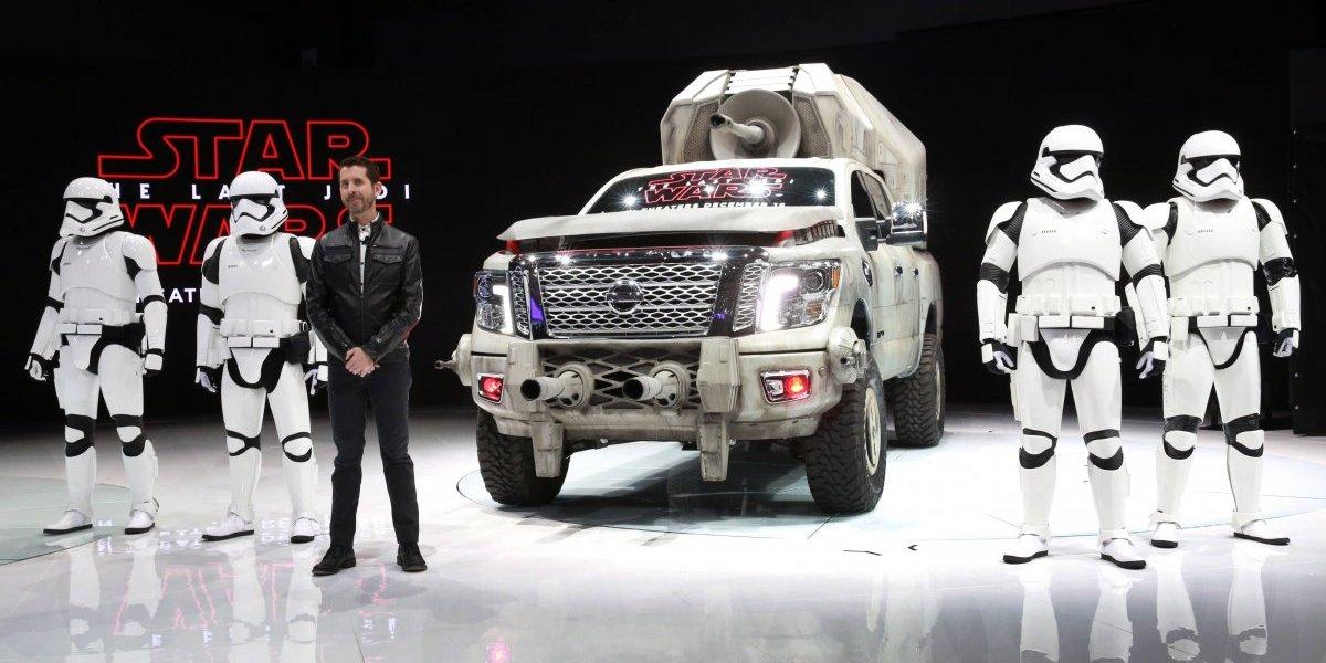 Nissan presenta seis autos concepto de Star Wars en Los Ángeles