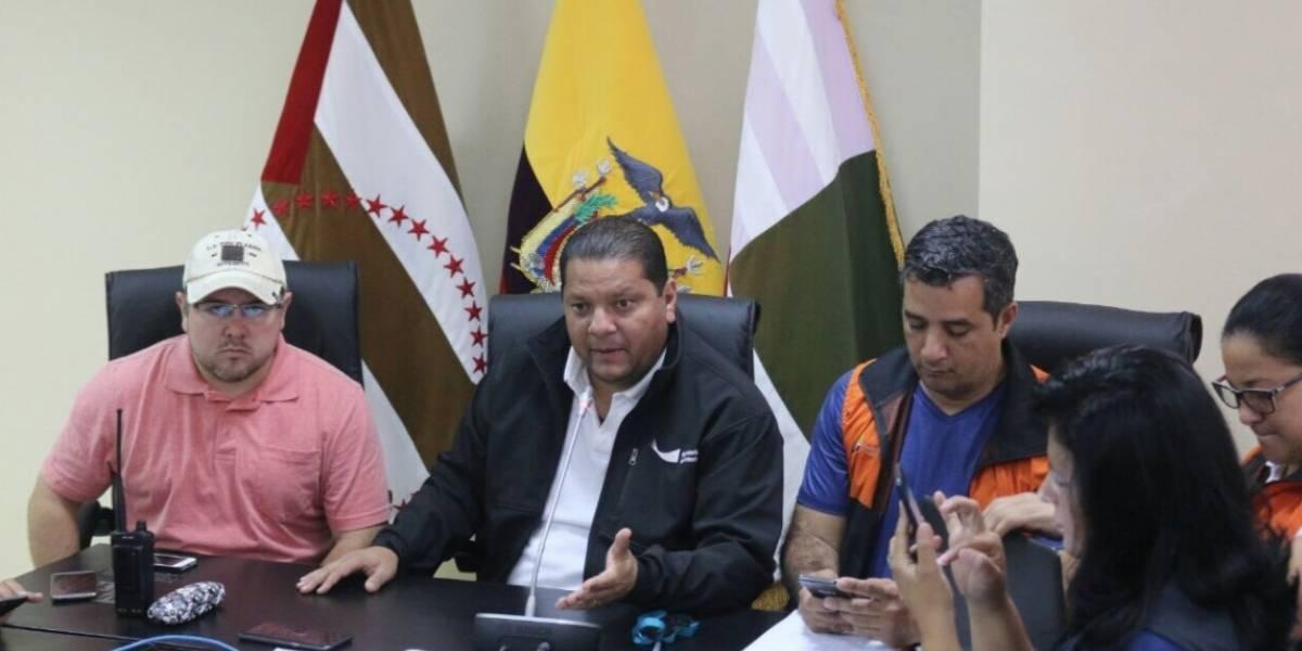 Gobernador de Manabí: Clases se darían con normalidad excepto en cinco unidades educativas
