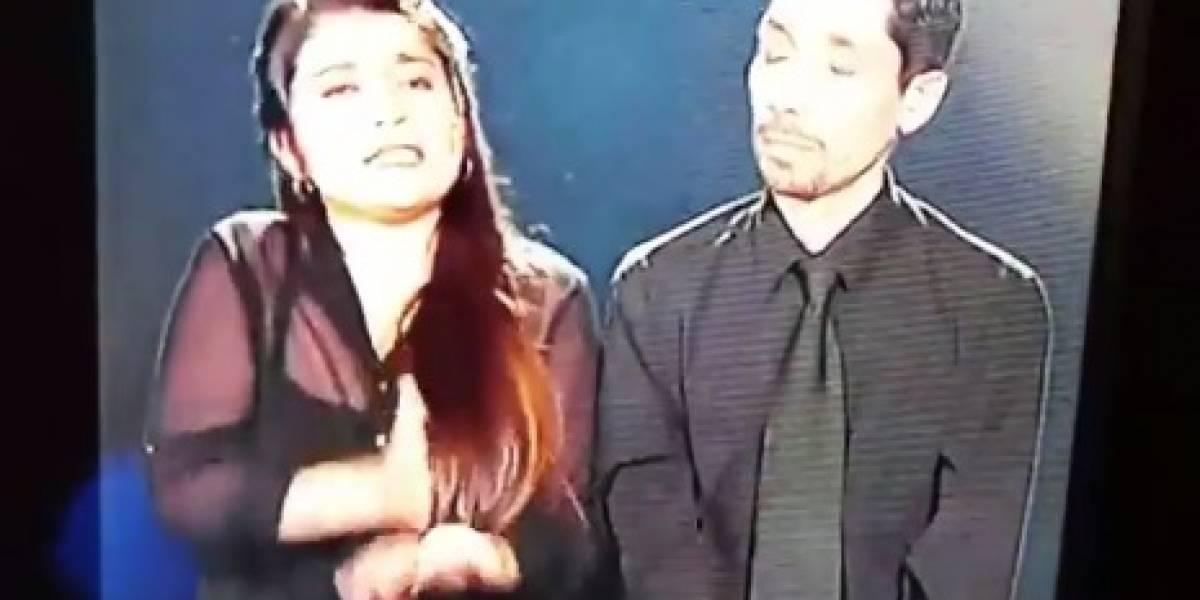 Versión de Pimpinela fue lo mejor: intérpretes de lengua de señas se robaron las miradas durante toda la Teletón