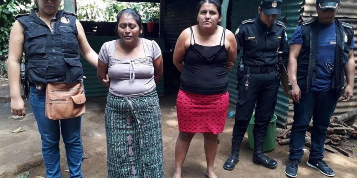 Presuntas extorsionistas son capturadas en allanamiento