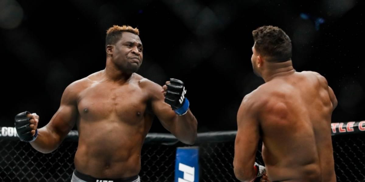 El espectacular nocaut de Francis Ngannou en la UFC