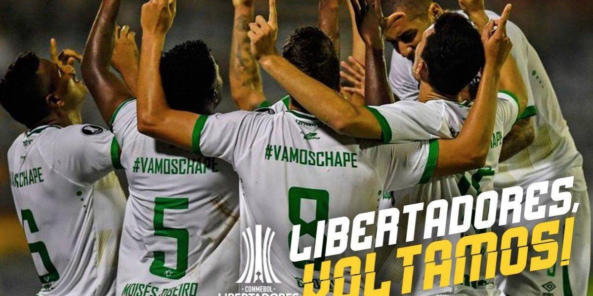 El milagro de Chapecoense: Clasificó a la Libertadores con un gol a última hora