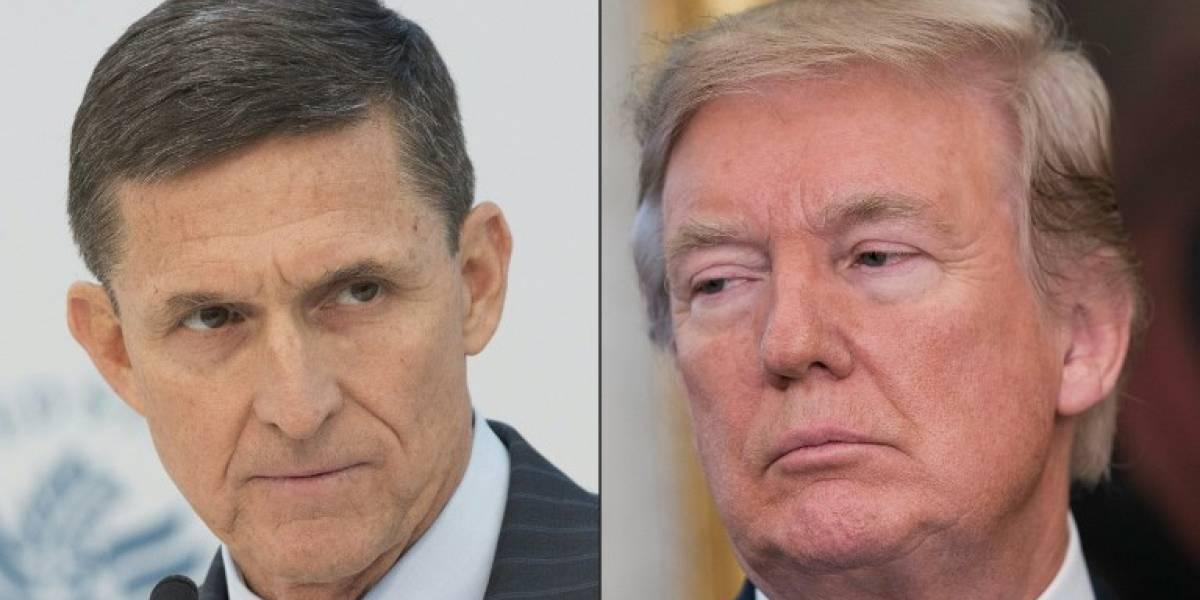 Trump niega haber pedido al FBI que cerrara investigación sobre Michael Flynn