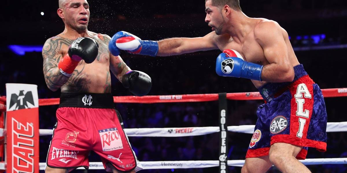 Sadam Ali vence a Miguel Cotto en la última pelea del boxeador boricua
