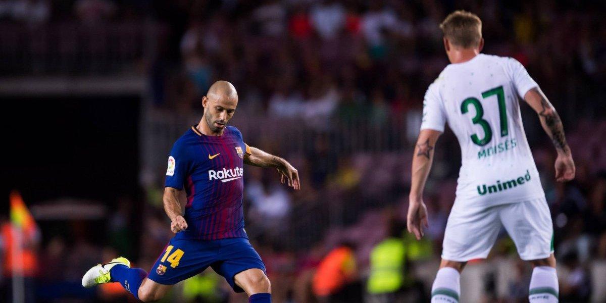 Mascherano presiona para salir del Barcelona — Cambia de aires