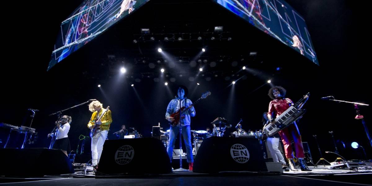 Arcade Fire cerró su gira por México