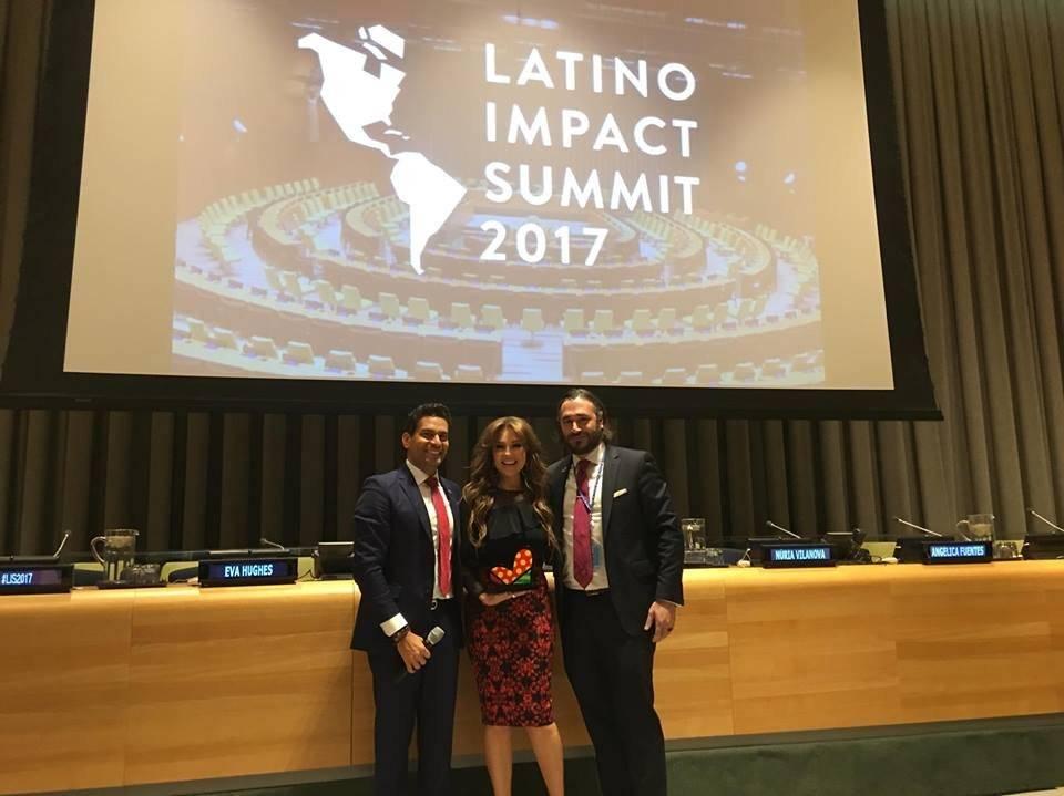 Thalía recibió el galardón principal como líder latinoamericana. Foto: Paula Peinado