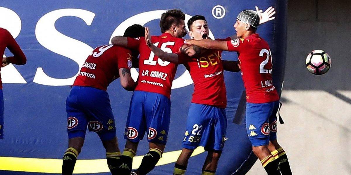Unión Española bajó a Audax de la pelea y mantiene la ilusión de ser campeón