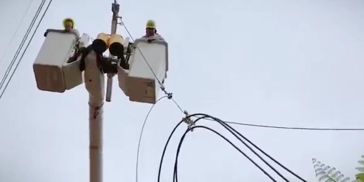 Contrato traerá cerca de 2,000 personas para reparar sistema eléctrico