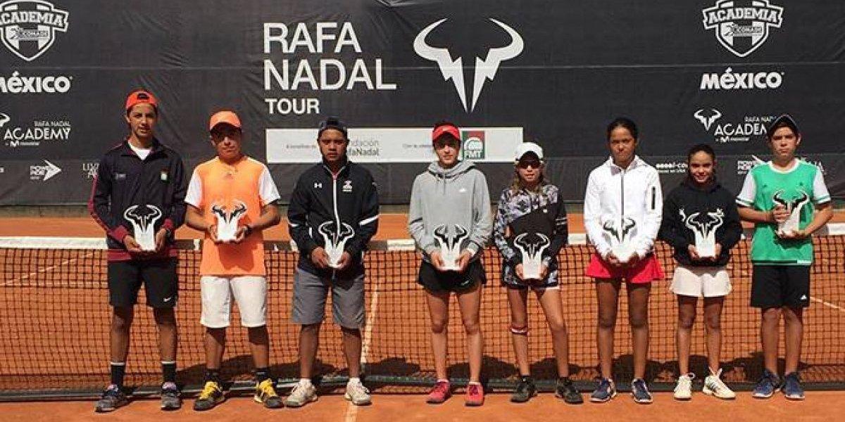 Con éxito, concluyó el primer Master Rafa Nadal